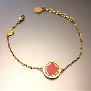 ede10df5ec32e Marc Jacobs Jewelry - Marc Jacobs Enamel Logo Disc Bracelet